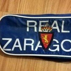 Collectionnisme sportif: BOTERO ZAPATILLERO BOLSA DEPORTE PARA BOTAS FUTBOL ADIDAS REAL ZARAGOZA AÑOS 80. Lote 233197085