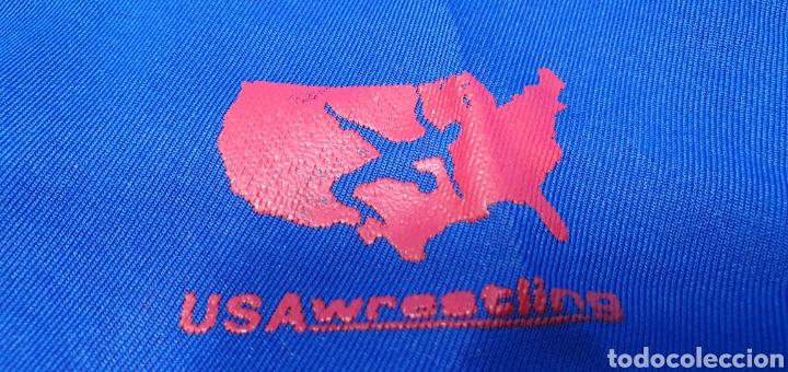 Coleccionismo deportivo: MAILLOT DE LUCHA LIBRE - USA WRESTLING - CK - Foto 4 - 236144525