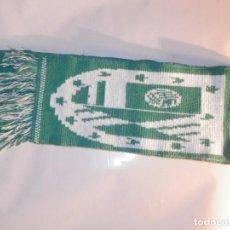 Coleccionismo deportivo: BUFANDA - FOULARD - FLAG - C.D. FUTBOL CLUB PELAYOS - DE LA PRESA - REGIONAL MADRID - 14 X 160 CM. Lote 236218780