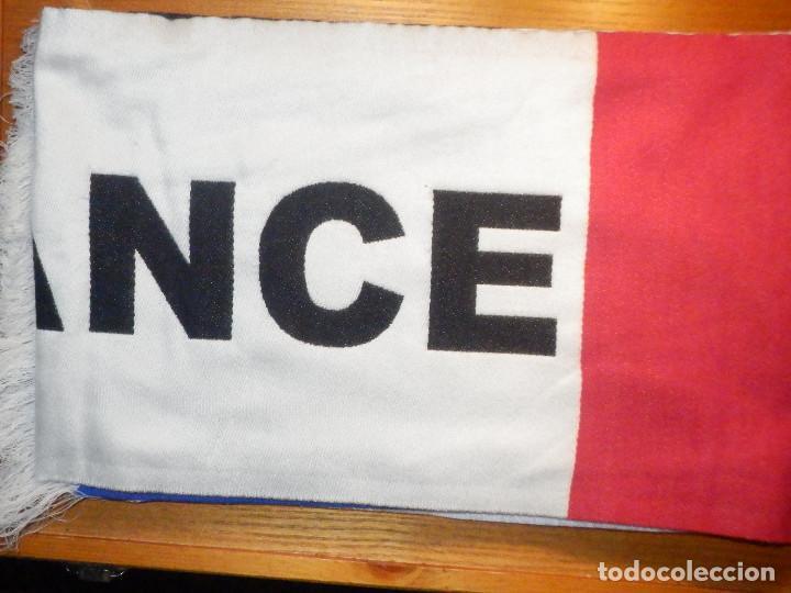 Coleccionismo deportivo: Bufanda - Foulard - F.C. - Club de Futbol - Selección - Francia - Euro Basket 07 - 20 x 140 cm - Foto 2 - 237515885