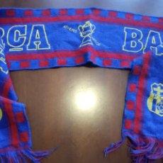 Coleccionismo deportivo: FC BARCELONA ATHENS 1994 HELLAS FINAL AC MILAN BUFANDA SCARF FOOTBALL FUTBOL. Lote 243353010