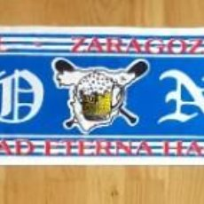 Collectionnisme sportif: BUFANDA LIGALLO FONDO NORTE ZARAGOZA ULTRAS HOOLIGANS. Lote 243615280