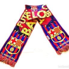 Coleccionismo deportivo: BUFANDA FC BARCELONA OFICIAL. Lote 244472655