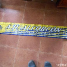 Colecionismo desportivo: BUFANDA A.D. ALCORCÓN 2010-2011. Lote 245383140