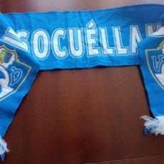 Colecionismo desportivo: UD SOCUELLAMOS SCARF FOOTBALL BUFANDA FUTBOL SCIARPA. Lote 249458565