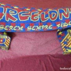 Coleccionismo deportivo: BUFANDA DE FUTBOL BARCELONA. Lote 250291170
