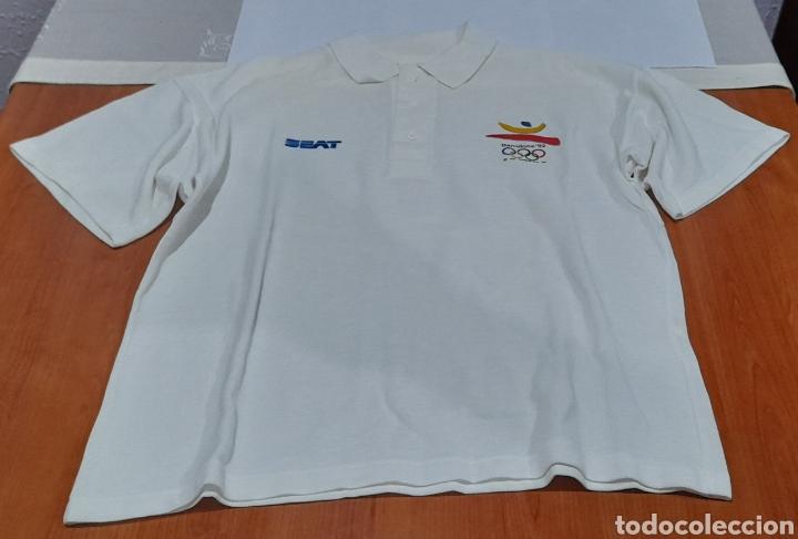 POLO OLIMPIADAS BARCELONA 92. VER FOTOS. (Coleccionismo Deportivo - Ropa y Complementos - Complementos deportes)