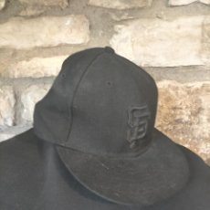 Coleccionismo deportivo: GORRA DE BEISBOL NEGRA SAN FRANCISCO 59FIFTY SAN FRANCISCO CAP. Lote 252567950