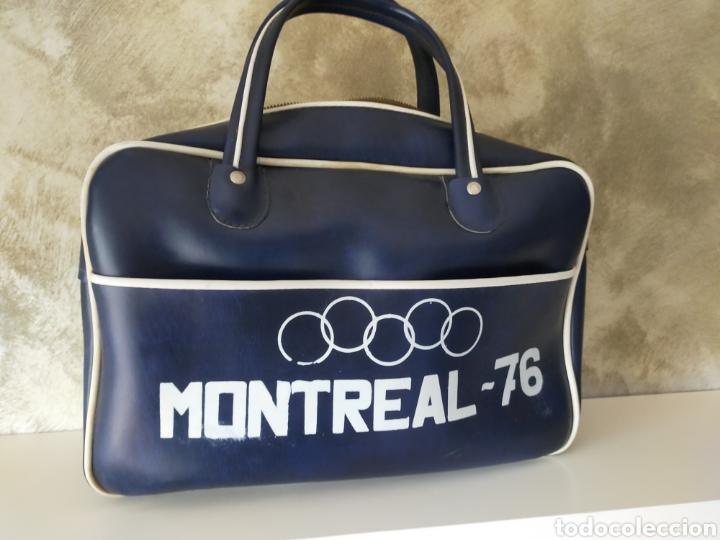 Coleccionismo deportivo: BOLSA VINTAGE MONTREAL 76 - Foto 2 - 257277070