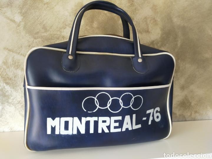 BOLSA VINTAGE MONTREAL 76 (Coleccionismo Deportivo - Ropa y Complementos - Complementos deportes)