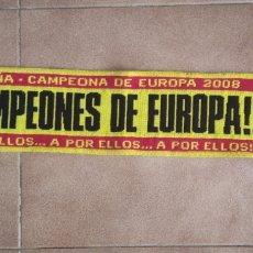 Coleccionismo deportivo: BUFANDA PEQUEÑA ESPAÑA. Lote 257471005