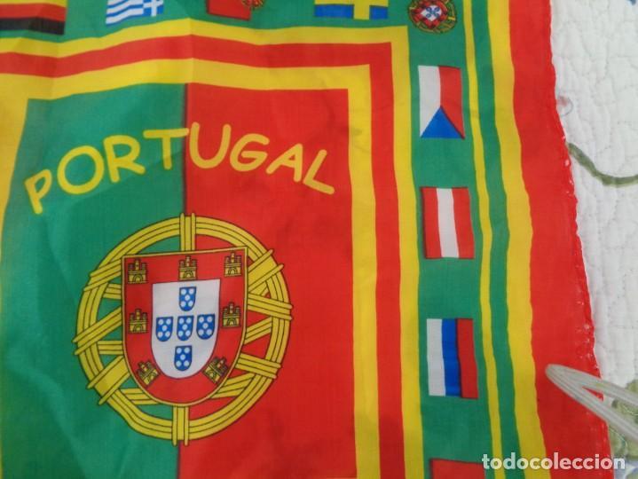 Coleccionismo deportivo: Pañoleta Portugal - Foto 5 - 260410660
