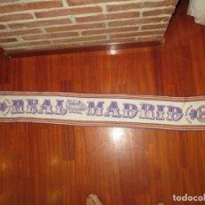 Coleccionismo deportivo: BUFANDA HALA MADRID LA MAS ANTIGUA EN IMMEJORABLE ESTADO. Lote 261620830