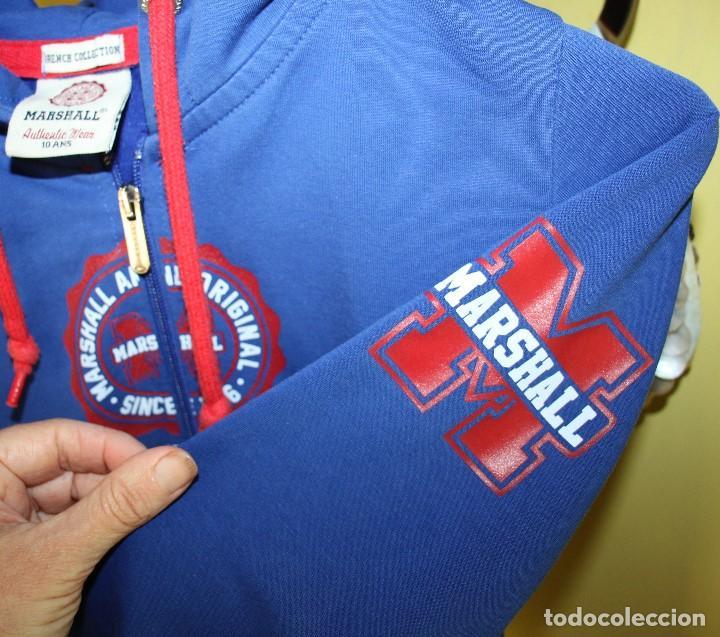 Coleccionismo deportivo: Chaqueta Marshall de chándal con capucha, talla 10 - Foto 3 - 263947525