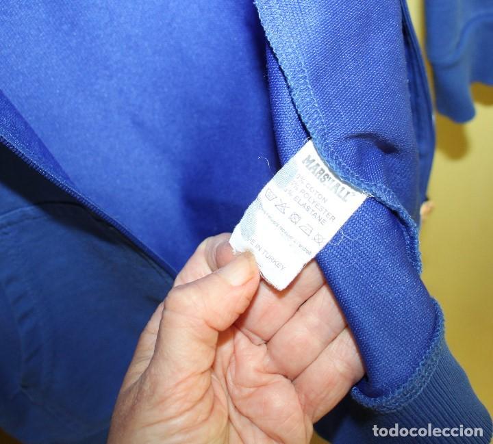 Coleccionismo deportivo: Chaqueta Marshall de chándal con capucha, talla 10 - Foto 5 - 263947525