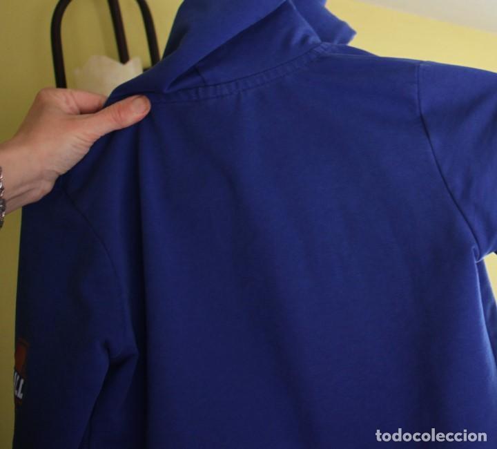Coleccionismo deportivo: Chaqueta Marshall de chándal con capucha, talla 10 - Foto 7 - 263947525