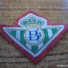 Coleccionismo deportivo: PARCHE BORDADO ESCUDO BETIS. Lote 267705079