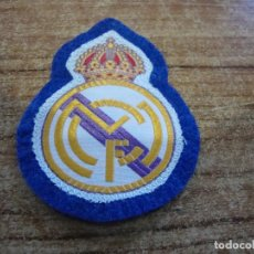 Coleccionismo deportivo: PARCHE BORDADO ESCUDO REAL MADRID. Lote 267705314
