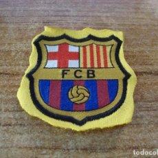Coleccionismo deportivo: PARCHE BORDADO ESCUDO F C BARCELONA. Lote 267705399