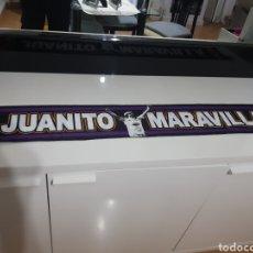 Coleccionismo deportivo: BUFANDA ULTRAS SUR - JUANITO MARAVILLA. Lote 267826489