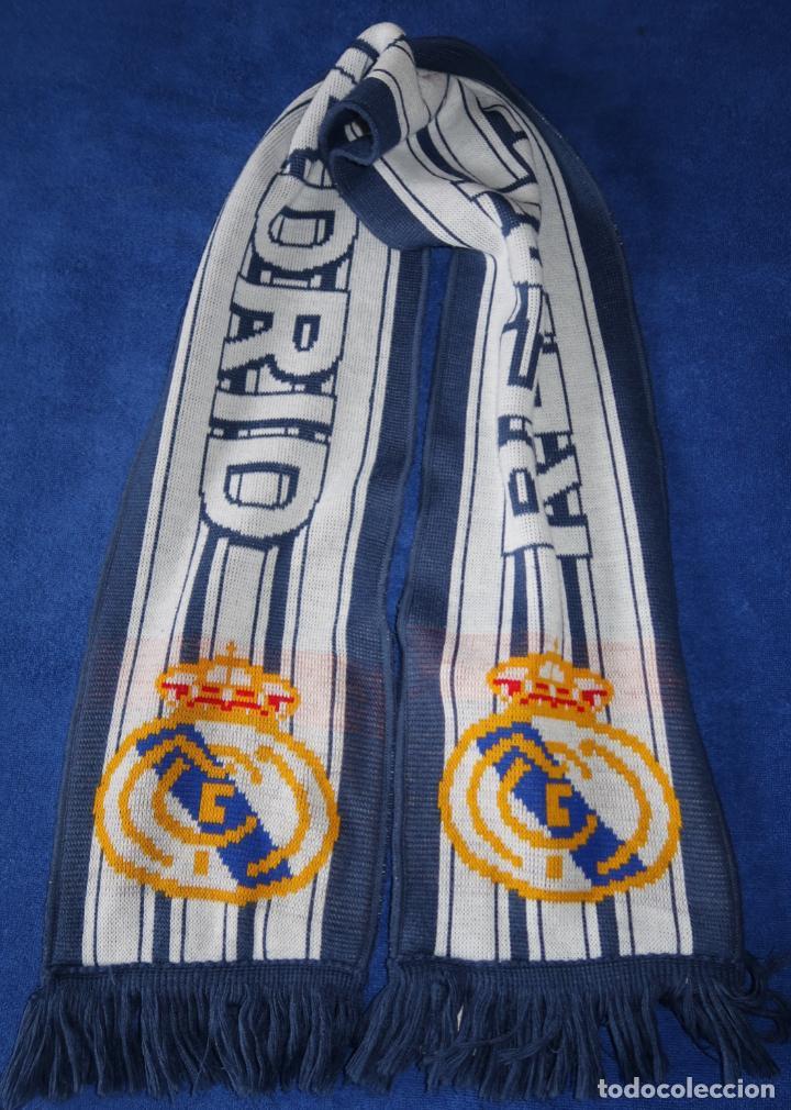 Coleccionismo deportivo: Bufanda Real Madrid - ADIDAS - Foto 3 - 269741188