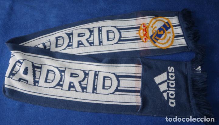 BUFANDA REAL MADRID - ADIDAS (Coleccionismo Deportivo - Ropa y Complementos - Complementos deportes)