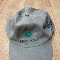 Coleccionismo deportivo: GORRA TENIS DAVIS CUP PATROCINADOR FOSSIL. Lote 276126013