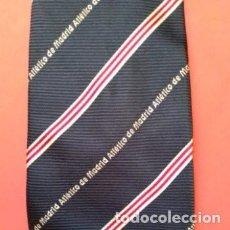 Collectionnisme sportif: CORBATA DEL ATLETICO DE MADRID, TEJIDO DE BUENA CALIDAD. LARGO TOTAL 150CM. Lote 276271708