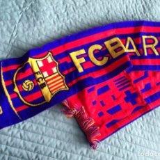 Coleccionismo deportivo: BUFANDA FC BARCELONA. Lote 277522498