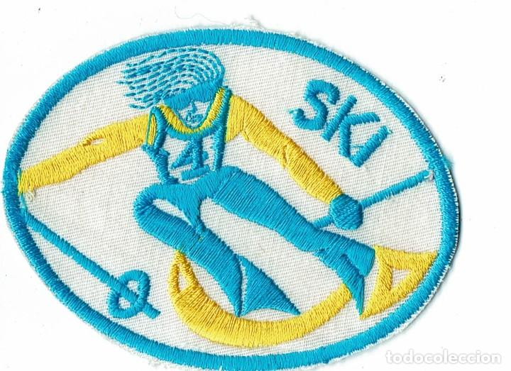 PARCHE DE TELA SKI (Coleccionismo Deportivo - Ropa y Complementos - Complementos deportes)