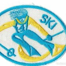 Coleccionismo deportivo: PARCHE DE TELA SKI. Lote 278347448