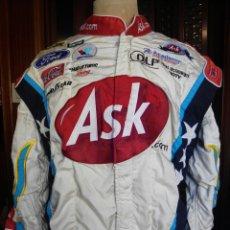 Coleccionismo deportivo: CHAQUETA NASCAR USADA COMPETICIÓN ORIGINAL USA BORDADA. Lote 283212908