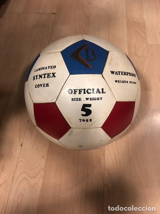 Coleccionismo deportivo: LOTE DE 3 BALONES - PELOTAS DE FUTBOL (BOOMERANG - MIKASA - BARCELONA 92 - COBI) - Foto 3 - 288334053