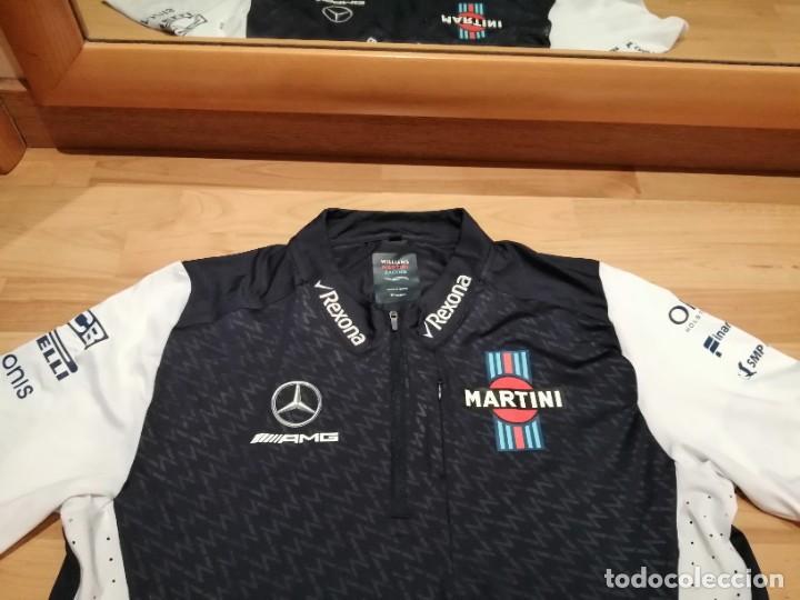 Coleccionismo deportivo: CAMISETA TEAM F1 WILLIAMS MARTINI RACING MERCEDES (NUEVA EN DIVERSAS TALLAS) - Foto 24 - 288578758