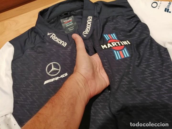 Coleccionismo deportivo: CAMISETA TEAM F1 WILLIAMS MARTINI RACING MERCEDES (NUEVA EN DIVERSAS TALLAS) - Foto 4 - 288578758