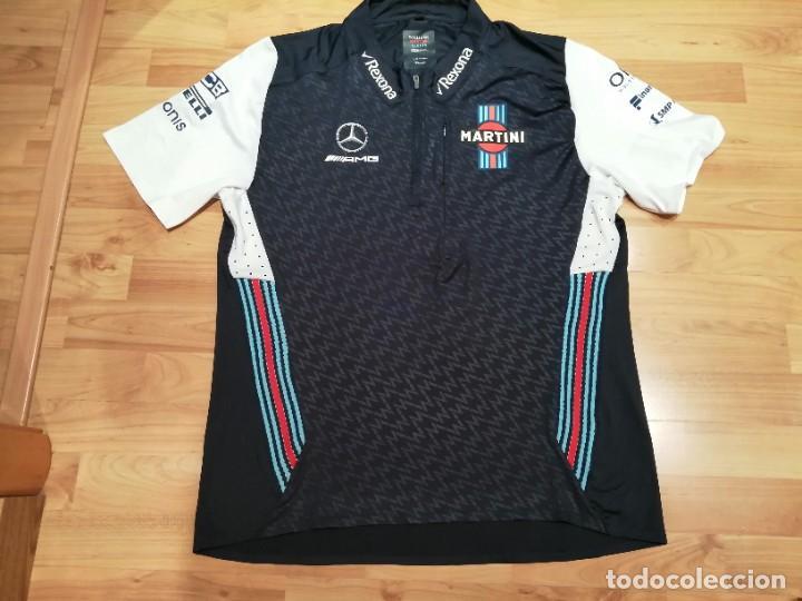 Coleccionismo deportivo: CAMISETA TEAM F1 WILLIAMS MARTINI RACING MERCEDES (NUEVA EN DIVERSAS TALLAS) - Foto 6 - 288578758