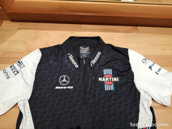 Coleccionismo deportivo: CAMISETA TEAM F1 WILLIAMS MARTINI RACING MERCEDES (NUEVA EN DIVERSAS TALLAS) - Foto 3 - 288578758