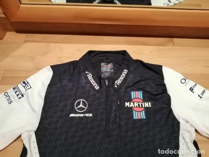 Coleccionismo deportivo: CAMISETA TEAM F1 WILLIAMS MARTINI RACING MERCEDES (NUEVA EN DIVERSAS TALLAS) - Foto 9 - 288578758