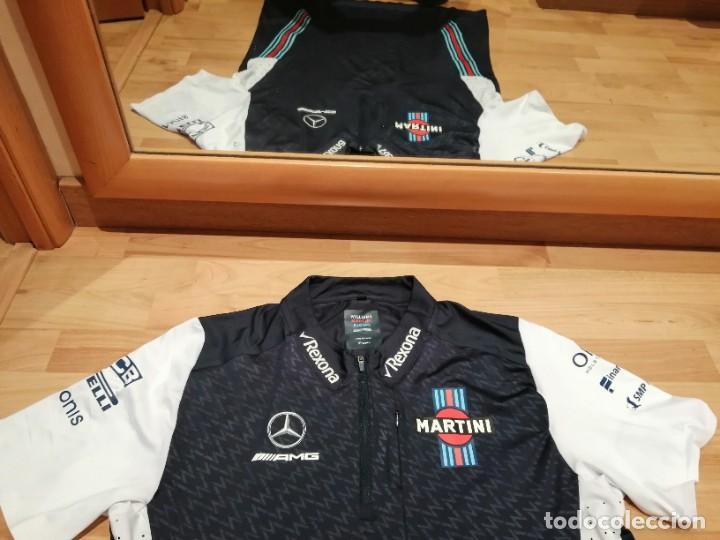 Coleccionismo deportivo: CAMISETA TEAM F1 WILLIAMS MARTINI RACING MERCEDES (NUEVA EN DIVERSAS TALLAS) - Foto 11 - 288578758