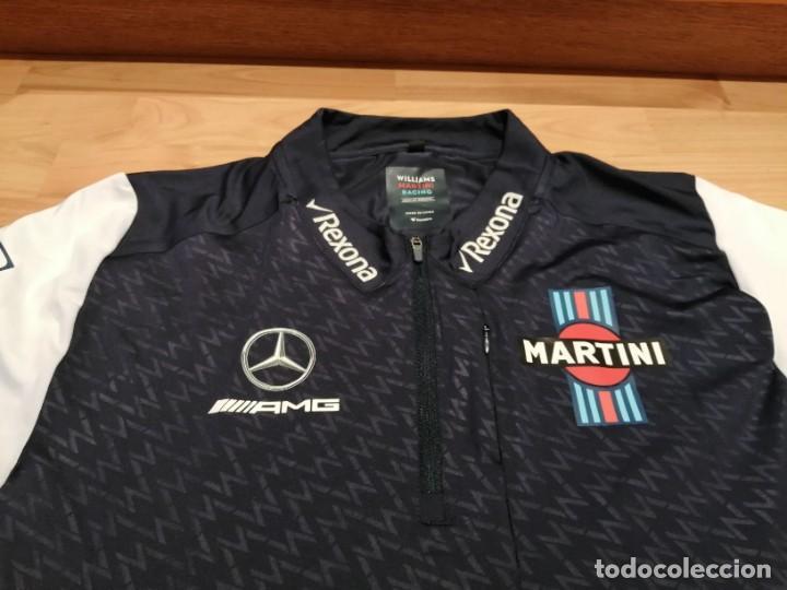 Coleccionismo deportivo: CAMISETA TEAM F1 WILLIAMS MARTINI RACING MERCEDES (NUEVA EN DIVERSAS TALLAS) - Foto 12 - 288578758