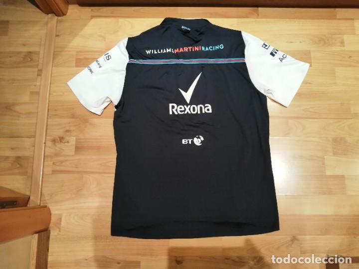 Coleccionismo deportivo: CAMISETA TEAM F1 WILLIAMS MARTINI RACING MERCEDES (NUEVA EN DIVERSAS TALLAS) - Foto 19 - 288578758