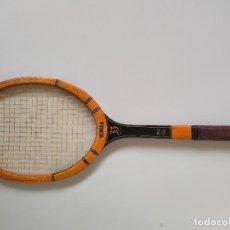 Coleccionismo deportivo: RAQUETA DE TENIS DE MADERA ANTIGUA YAMAHA. Lote 289439138