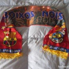 Coleccionismo deportivo: BUFANDA FC BARCELONA (BOIXOS NOIS). Lote 294978298