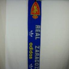Coleccionismo deportivo: BUFANDA DEL REAL ZARAGOZA CF ADIDAS. Lote 295846908