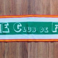 Coleccionismo deportivo: BUFANDA AÑOS 80 DE LANA Y SERIGRAFIADA EN PINTURA ELCHE CLUB DE FUTBOL / PRODUCTO OFICIAL. Lote 296009558