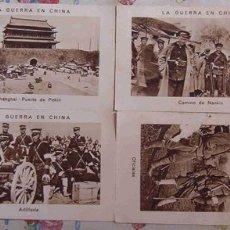 Coleccionismo Cromos antiguos: 4 CROMOS DE CHOCOLATE E.JUNCOSA. Lote 2023442