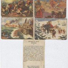Coleccionismo Cromos antiguos: HISTORIA DE ESPAÑA COLECCIÓN DE 156 PUBLICIDAD JAUME BOIX FALTAN 8 CROMOS. Lote 2022127