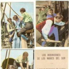 Coleccionismo Cromos antiguos: (CRS-237) CROMO ALBUM LOS ROBINSONES DE LOS MARES DEL SUR. Lote 48585204