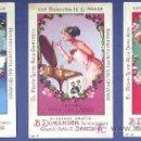 Coleccionismo Cromos antiguos: PRODUCTOS. COLECCION DE 12 CROMOS. COMPLETA. FOSFO GLICO KOLA DOMENECH. BARCELONA. SIN FECHA. Lote 25648049