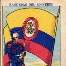 Coleccionismo Cromos antiguos: CROMO Nº 54 - COLOMBIA - COLECCIÓN BANDERAS DEL UNIVERSO - CHOCOLATES AMATLLER - AÑOS 20. Lote 8503886